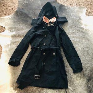 ✨ SALE Burberry Brit trench coat black